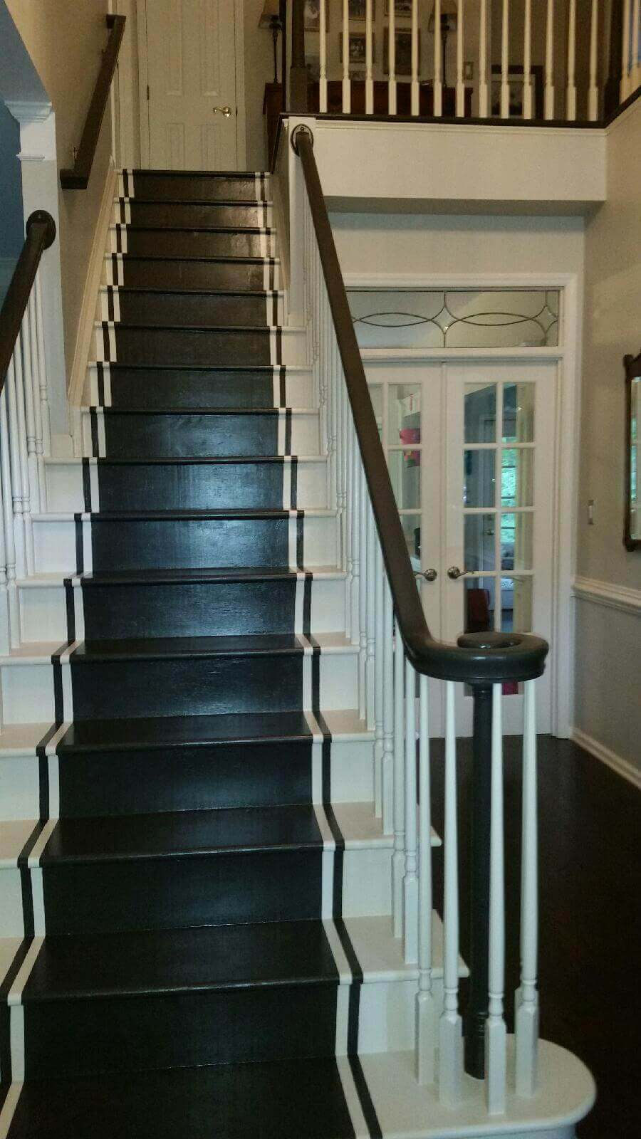 Custom Runner On Staircase